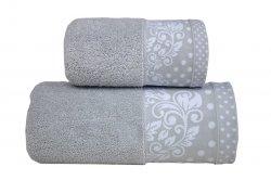 Ręcznik MELISSA 70x140 kolor jasny popiel