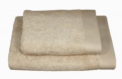 Ręczniki BAMBOO STYLE Andropol 50x100 wz. beż jasny
