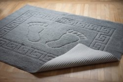 Dywanik łazienkowy - antypoślizgowy 50x70 wz. P13 szary