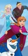 Ręcznik licencyjny - Frozen 049  - rozmiar 70x140