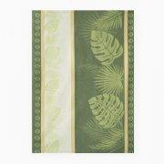 Ścierka Czapla 50x70 liście zielone
