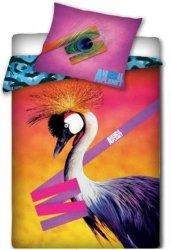 Pościel licencyjna Animal Planet 100% bawełna 160x200 - Żuraw