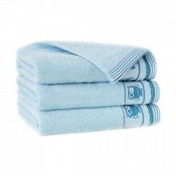 Ręcznik frotte PUSZCZYK 70x140 kolor wodny