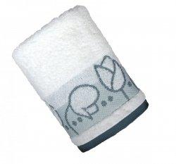 Ręcznik TULIPANO 70x140 kolor Biały