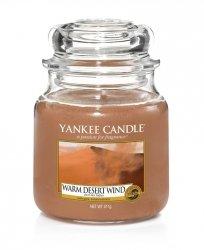 Świeca Yankee Candle Warm Desert Wind - średni słoik