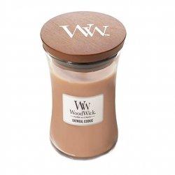 Świeca zapachowa WoodWick - Oatmeal Cookie - Duża świeca