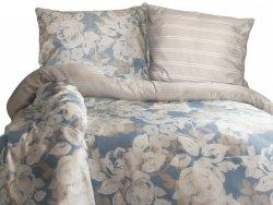 Pościel satyna bawełniana DARYMEX kolekcja Luxury 160x200 wz. Deco Rose