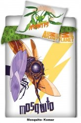 Pościel licencyjna Animal Planet 100% bawełna 140x200 - Mosquito - Komar