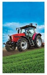 Ręcznik młodzieżowy - Traktor - rozmiar 30x50 wz. 07T