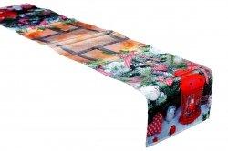 Świąteczny Ozdobny obrus MILANO  wz. 562 rozmiar 40x180