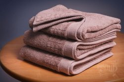 Ręcznik  PAULO  70x140  kolor Cynamon