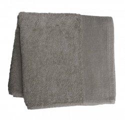 Ręcznik jednobarwny AQUA rozmiar 70x140 szary