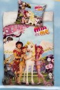 Pościel licencyjna Disney 100% bawełna 140x200 - Mia and Me - LD8001