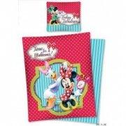 Pościel licencyjna Disney 100% bawełna 160x200 lub 140x200 - Minnie Mouse - STC11