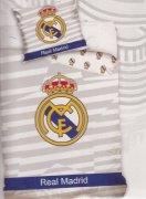 Pościel sportowa licencyjna 100% bawełna 160x200 - Real Madrid 8018