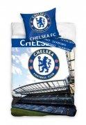 Pościel sportowa licencyjna 100% bawełna 160x200 lub 140x200 - Chelsea FC 8005