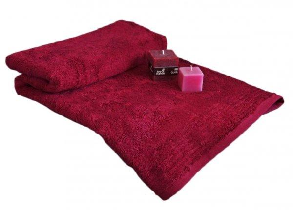 Ręczniki BAMBOO Andropol 70x140 wz. burgund