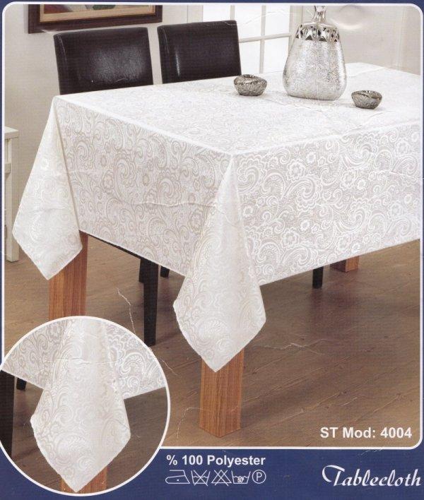 Obrus teflonowy rozmiar 150X220 wzór biały (201)