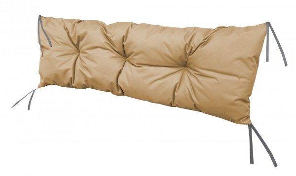 Poduszka na huśtawkę ławkę 120x40 wz. Beż