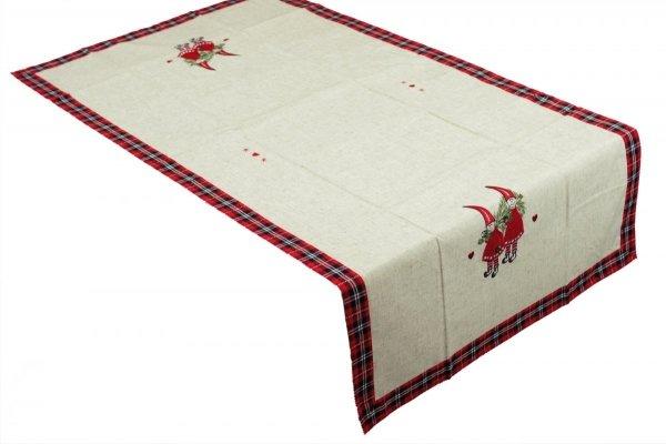 Obrus świąteczny MIŁKA rozmiar 85x85 wzór h636