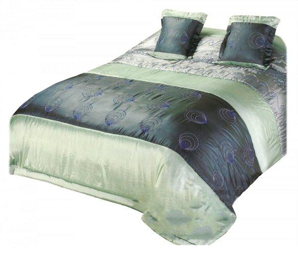 Narzuta na łóżko 240x260 + 2 poszewki 40x40 wz. Wiktoria 01