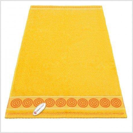 Ręcznik frotte Rondo 70x140 kolor żółty k6