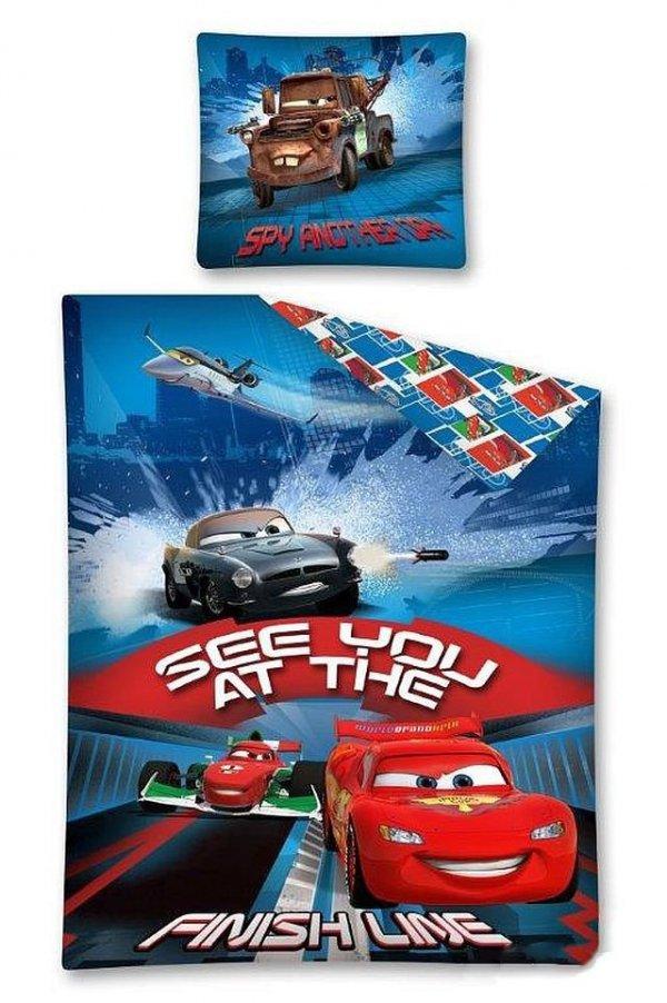 Pościel licencyjna Disney 100% bawełna 160x200 lub 140x200 - Cars 06 DC