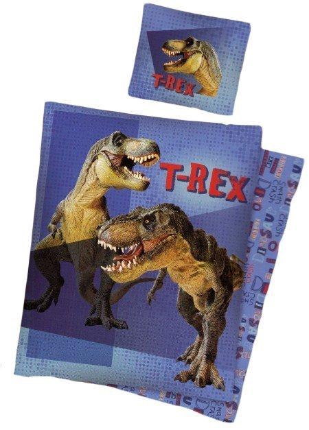 Pościel licencyjna  100% bawełna 160x200 - T-rex 8015