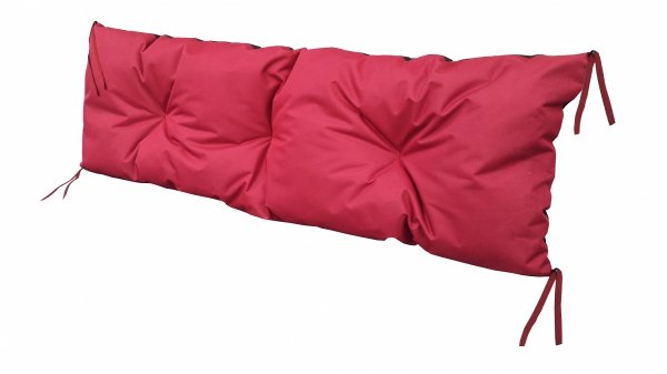 Poduszka na huśtawkę ławkę 120x40 wz. Bordowy