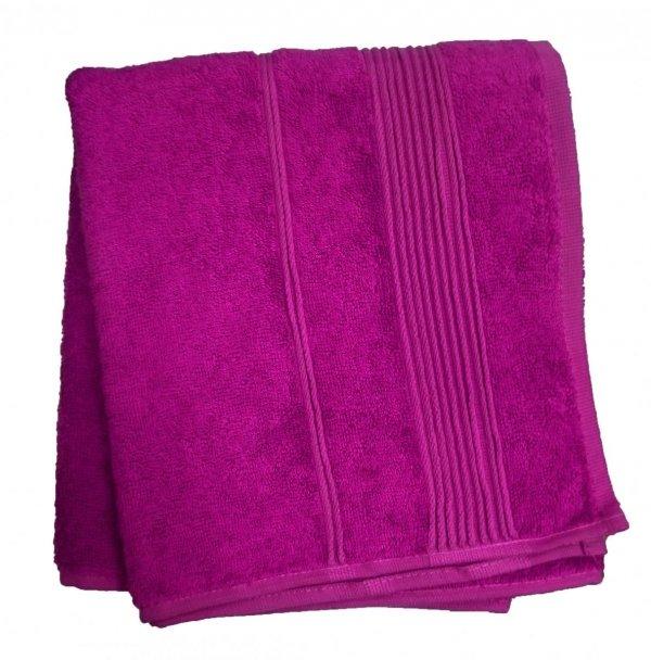 Ręcznik Bambusowy Moreno rozmiar 50x90 - Fiolet