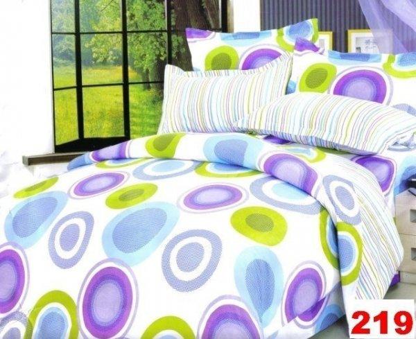 Poszewki na poduszki 40x40 bawełna satynowa wz. 0219