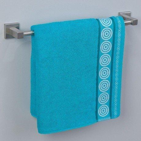 Ręcznik frotte Rondo 70x140 kolor turkus k21