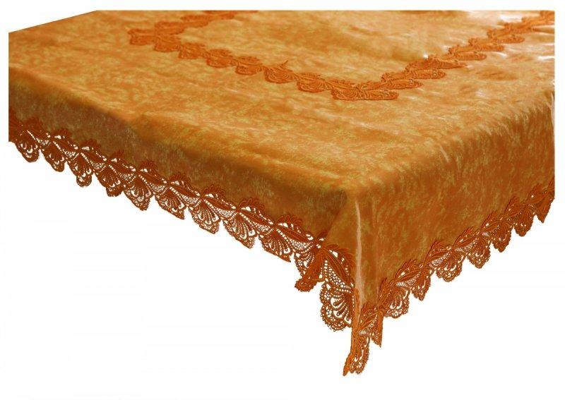 Obrus Prom 271 170x170 kolor: pomarańczowy