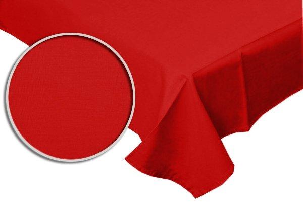 Prześcieradło RUBIN 100% bawełna 160x200 bez gumki wz. czerwony