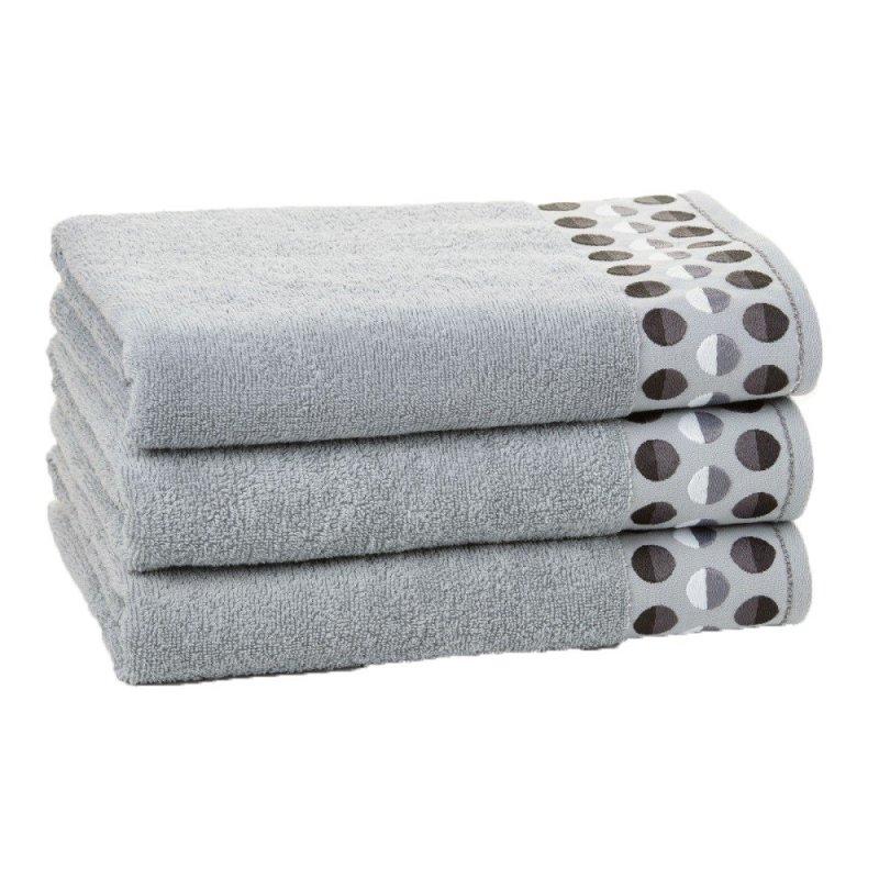 Ręcznik  ZEN  70x140  kolor Jasny szary