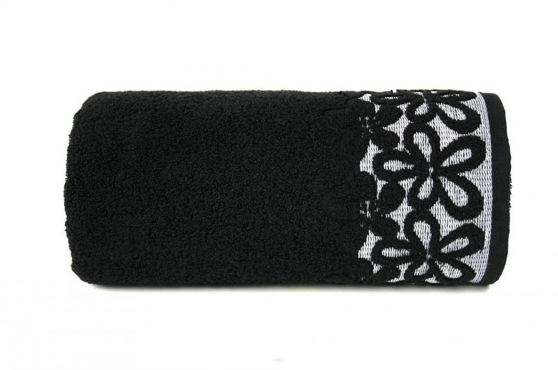 Ręcznik BELLA 70x140 kolor czarny