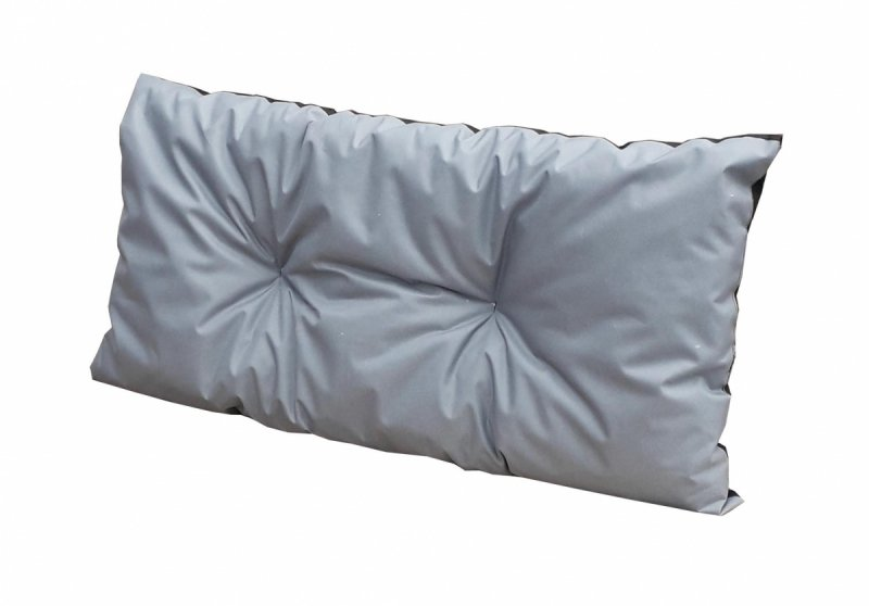 Poduszka ogrodowa na huśtawkę ławkę paletę 100x50 wz. SZARY