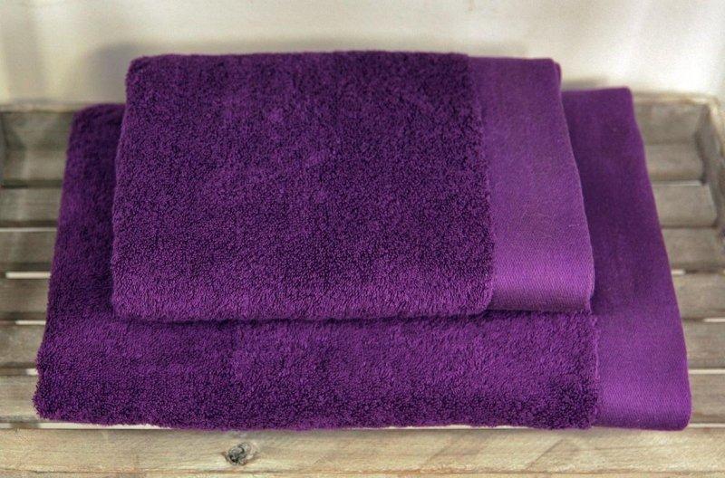 Ręczniki BAMBOO STYLE Andropol 50x100 wz. fioletowy