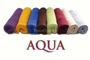 Ręcznik PROMOCJA,ręcznik jednobarwne AQUA rozmiar 50x100 wz. czarny