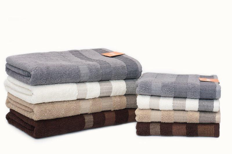 Ręcznik ECO II  50x90 kolor brązowy