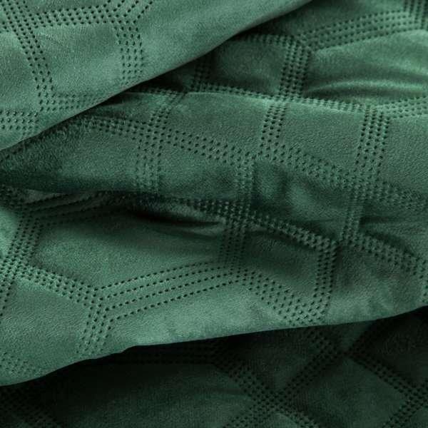 Narzuta pikowana ARIEL2 170x210 wz. ciemna zieleń