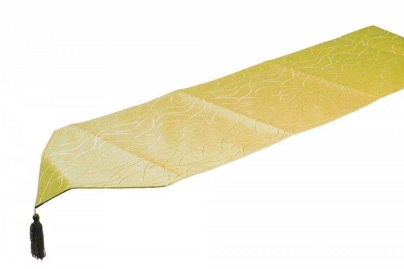Obrus plamoodporny Jedeka 33x170 szarfa Kolor: Limonka