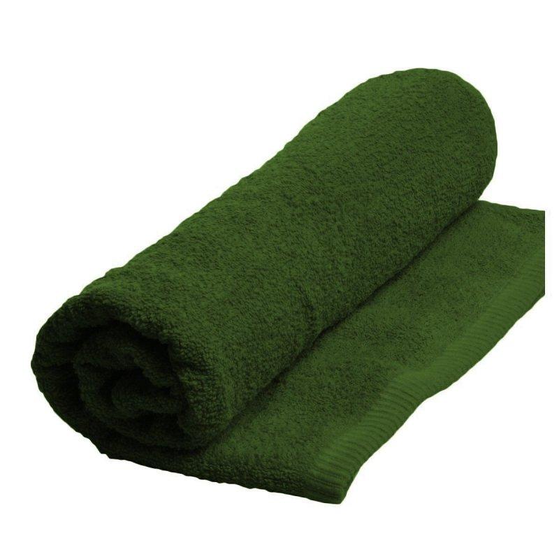 Ręcznik MODENA  rozmiar 50x100 wz. zielony