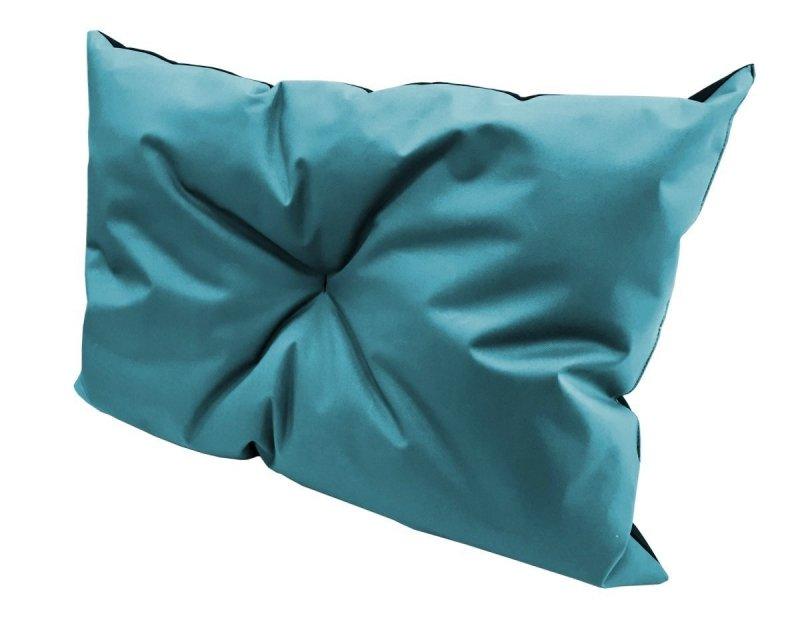 Poduszka ogrodowa na paletę - narożnik 70x40 wz. niebieski