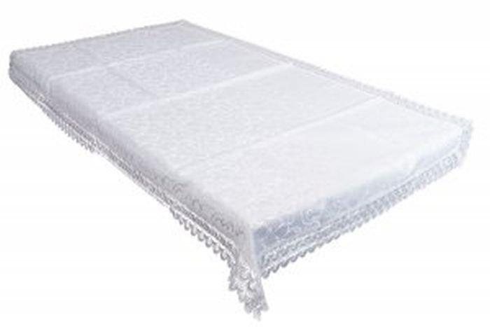 Obrus gipiurowy rozmiar  90x160 wzór biały (207)