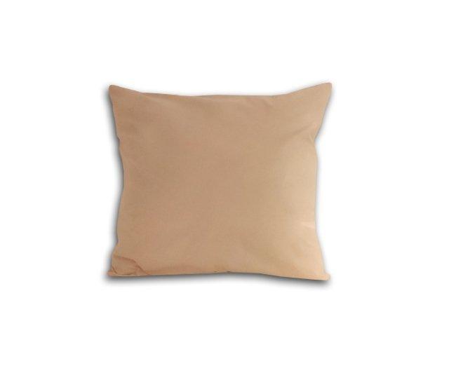 Poszewka na poduszkę 40x40 - 100% bawełna satynowa DARYMEX, zapięcie na zamek wz. beż 018