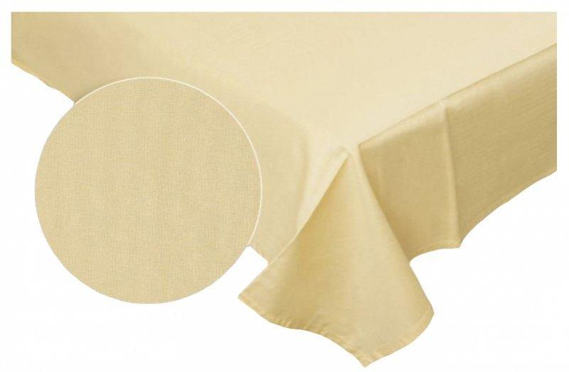 Prześcieradło RUBIN 100% bawełna 160x200 bez gumki wz. krem 07