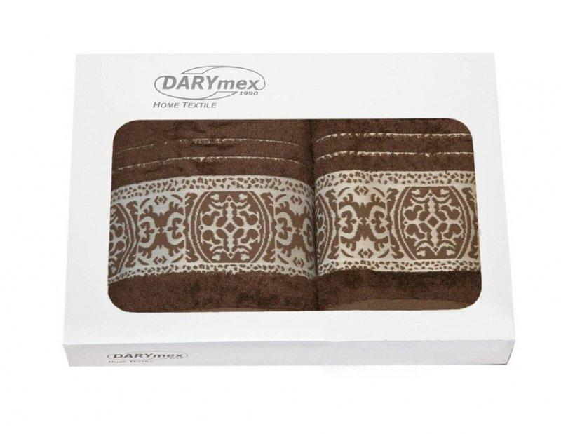 Komplet ręczników dwuczęściowy Bamboo Orient Czekolada  50x90 + 70x140