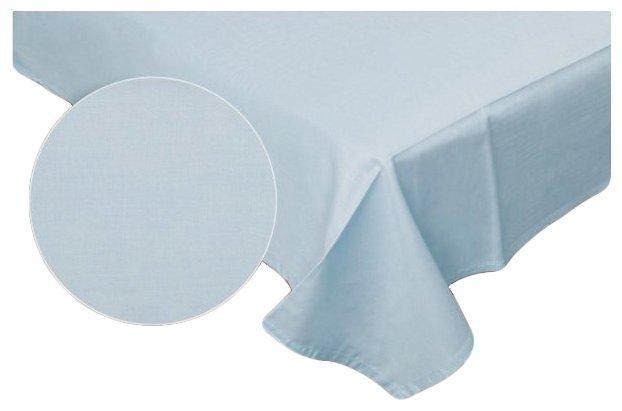 Prześcieradło RUBIN 100% bawełna 160x200 bez gumki wz. niebieski