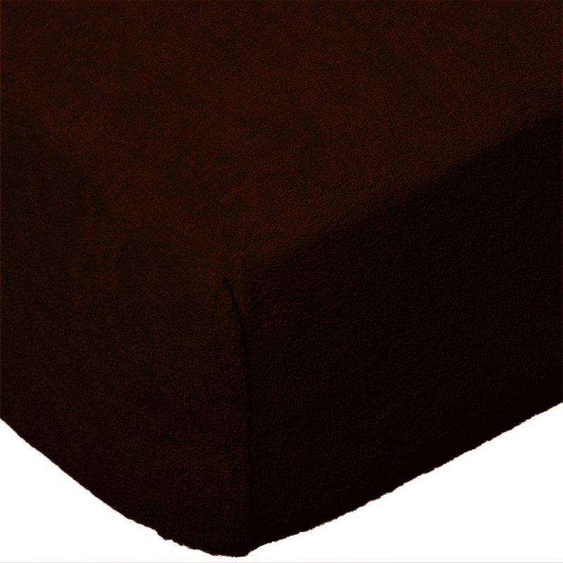 Grube Prześcieradło FROTTE 90x200 na gumkę wz. 030 czekoladowy 2
